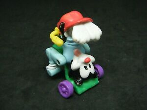 Animaniacs Wakko Upside Down on Tricycle Happy Meal McDonalds Toy 1990's