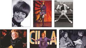 Cilla Black Postcards Set