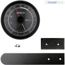 Hosco Hygrometer Thermometer w/ Case Mounting Kit for Guitar Ex Sensor Japan Mij