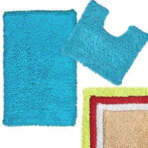 2 Piece Cotton Toggle Bath Mat & Toilet Contour Set **FREE DELIVERY**
