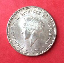 Luxembourg - Superbe monnaie en argent de 5 Francs 1929 Rare en cette qualité