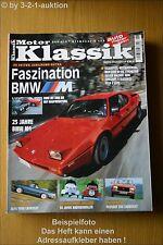 Motor Klassik 6/03 BMW M1 M3 M5 Alfa Peugeot Mini