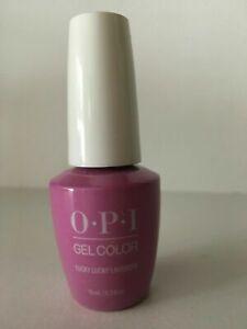 "OPI GelColor Soak-Off Gel Polish ""Lucky Lucky Lavender #GCH48"" 0.5 oz"