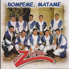 """BANDA ZETA CD: """"ROMPEME, MATAME"""" 1999"""