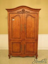 43055Ec: Century Country French 4 Door Bedroom Armoire Cupboard