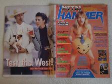 METAL HAMMER Nr. 10 - 1988 Helloween Metallica Atrophy Tankard Celtic Frost DRI