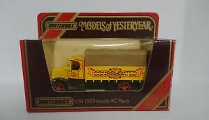 Model of Yesteryear Y30 1920 AC MACK Limited Edition Consolidated MotorTransport
