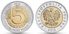 POLAND Polen Pologne Polonia 2018 5 zlotych zlote PLN INDEPENDENCE #S11