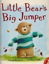 Little Bear's Big Jumper BRAND NEW BOOK by David Bedford (Paperback, 2009)