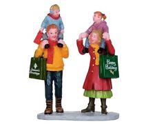 LEMAX 22022 Family Christmas Shopping Figurine