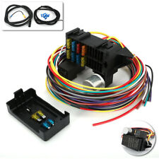 8 Circuit Fuse 12V Universal Wire Harness Muscle Car Hot Rod Street Rat