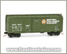 Micro Trains N: British Columbia Railway 40' Boxcar