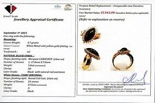Black Coral Ring with Certificate value $1365