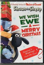 Shaun the Sheep: We Wish Ewe a Merry Christmas (DVD, 2011) BRAND NEW