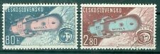Czech 1963 Space Fights of Vostok V & VI Air Post - Sc#C57-8 Set of 2