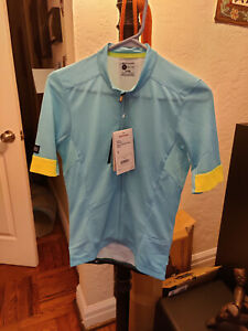 Bontrager Velocis Endurance Cycling Jersey (Fitted), Azure, Small