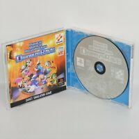 Dance Dance Revolutuon DISNEYS RAVE PS1 Playstation ccc p1