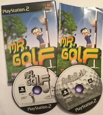 2 X PAL Playstation 2 PS2 Midas Golf jeux M. Golf + Go Go Gogo Golf