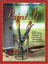 Paint It! :101 Ideas, Designs, and Patterns for Decorating Any Surface (2002) LN