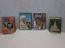 4 Animated DVD's - Totally Spies - Dot & Kangaroo -Solar Adventures - Ali Baba &