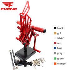 For Honda CBR600RR 03-06 CBR600 F4 01-04 Rearset Footrest Footpegs Pegs Pedals