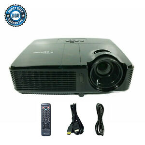 Optoma TX631-3D DLP Projector Portable 3500 Lumens Cinema HD 1080p HDMI w/Remote