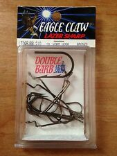 Eagle Claw Bronze Worm Hook 10 pack Size 2/0 LT095JBR