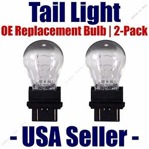 Tail Light Bulb 2pk --- OE Replacement Fits Listed Saturn Vehicles - 3157