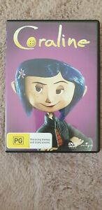 Coraline DVD R4