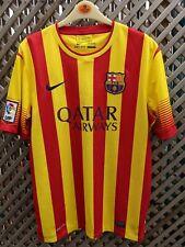 FC Barcelona Away Shirt by Nike 2013/14 Season adult size L 44 chest 28 long