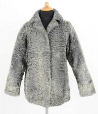 PERSIANER PELZJACKE ECHT PELZ GRAU PELZMANTEL - PERSIAN LAMB FUR JACKET