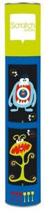 Scratch Magnetisches Kinder Dartspiel -Monster Design- 54 x 36cm