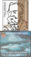 Kroatien 256,257 (kompl.Ausg.) postfrisch 1993 Sondermarken