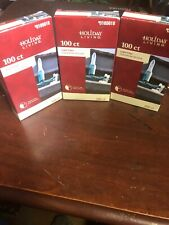 Holiday living 0165618 light clips Lot of three 300 clips