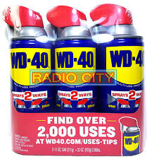 WD-40 Smart Straw 11oz. Aerosol Can (3-Pack) Multi-Use Product