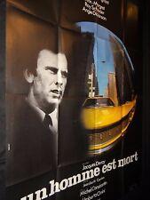 UN HOMME EST MORT jl trintignant  jacques deray  affiche cinema 1972