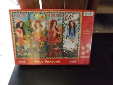 House Of Puzzles - 1000 Piece Jigsaw - Four Seasons - New, Sealed