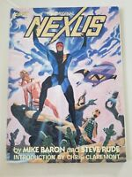 THE ORIGINAL NEXUS Graphic Novel 1985 FIRST COMICS MIKE BARON & STEVE RUDE!
