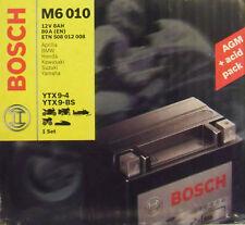 Bosch M6 010 Motorradbatterie Batterie 8AH Aprilia BMW Honda  YTX9-4  YTX9-BS