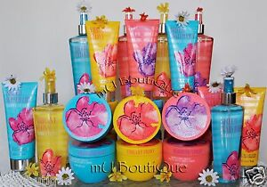 1 VICTORIAS SECRET SUMMER FRESHES PEONY VIOLET WATER LILY LOTION MIST SOUFFLE