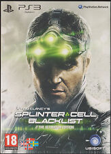 Tom Clancy's Splinter Cell Blacklist, Ultimate Edition, PS3, UNCUT, NEU & OVP
