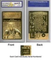 WILT CHAMBERLAIN 1961-62 Fleer ROOKIE 23KT Gold Card Graded GEM MINT 10 * BOGO *
