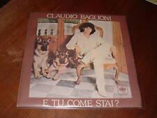 """CLAUDIO BAGLIONI """" E TU COME STAI?""""  ITALY'78"""