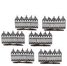 SVH SPOOKY WROUGHT IRON FENCE Snow Village Halloween Dept 56 Accessory 52982