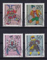 Bund 650 - 653 gestempelt ETST Ersttagsstempel Schlüchtern Vollstempel used