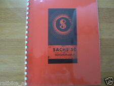 S0003 SACHS---INSTRUCTIE BOEKJE---SACHS 50-MODEL