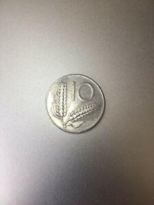 Moneta ITALIA REPUBBLICA - 10 LIRE del 1951 - ARATRO E SPIGHE - MOLTO RARA