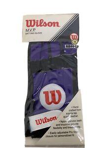 New VINTAGE Wilson MVP SERIES Batting Glove ADULT XL Left Hand