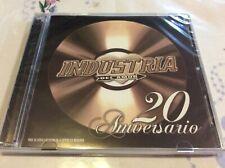 Cd Industria Del Amor 20 Aniversario 2cd