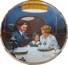"Norman Rockwell's ""The Birthday Wish"" Collectors Plate"